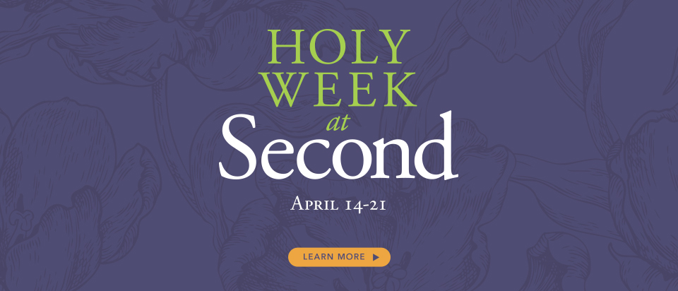 HOLY WEEK slide